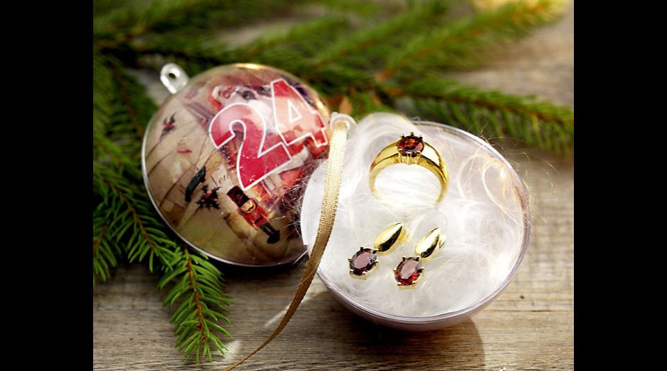 adventskalender weihnachtskugeln 24 kugeln zum selbst bef llen girlande neu ebay. Black Bedroom Furniture Sets. Home Design Ideas