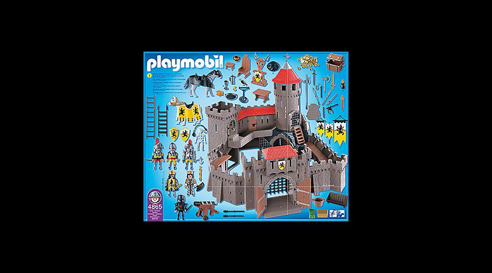 Playmobil 4865 gro e l wenritterburg ritterburg burg for 4865 playmobil